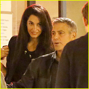 George Clooney is Engaged to Amal Alamuddin!