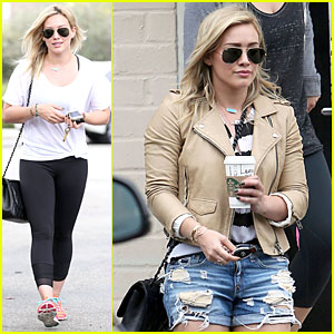 Hilary Duff Uses an Alias