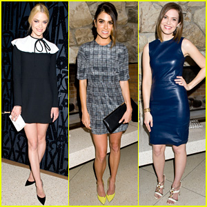 Jaime King & Nikki Reed Are Fashionistas at Jimmy Choo's CHOO.08 Launch Party!