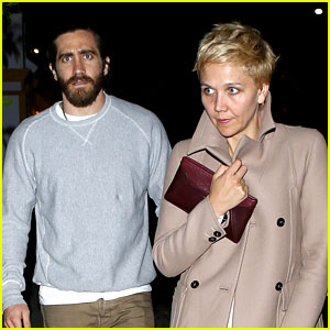 Jake Gyllenhaal Grabs Dinner at Giorgio Baldi with Sister Maggie!