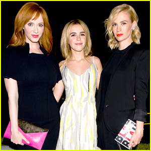 January Jones & Christina Hendricks: Ladies of 'Mad Men' Help Launch Jimmy Choo's CHOO.08
