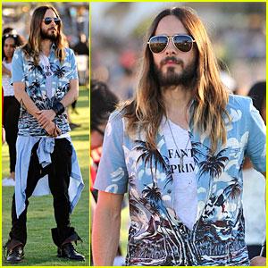 Jared Leto Makes Hawaiian Shirts Look Super Cool at Coachella!