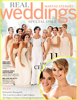 Jennifer Lawrence Was a Beautiful Bridesmaid at Brother Blaine's Wedding!