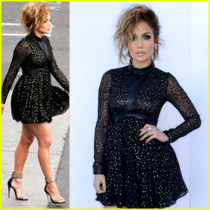 Jennifer Lopez Rocks '80s Chic Look for 'American Idol'!