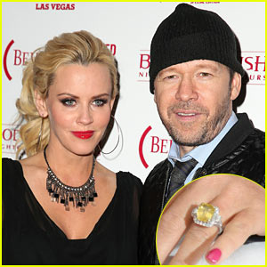 Jenny McCarthy & Donnie Wahlberg Engaged, Announce News on 'The View' - See Her Engagement Ring H