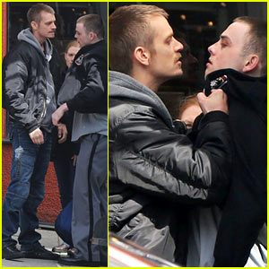 Joel Kinnaman Gets Rough with a Potential Suspect on 'Killing' Set