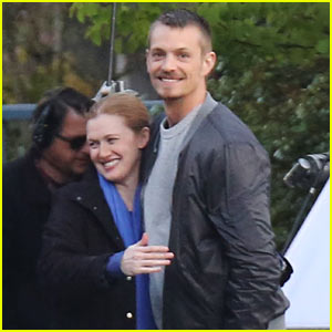 Joel Kinnaman is All Smiles, In Good Spirits After Olivia Munn Split