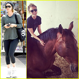 This Pic of Kaley Cuoco's Sleeping Horse Will Melt Your Heart!