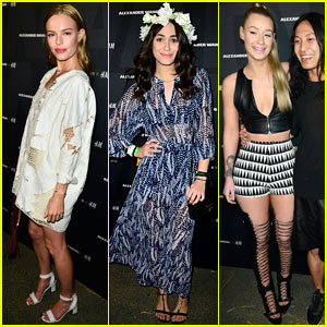 Kate Bosworth & Emmy Rossum: Alexander Wang X H&M Coachella Party