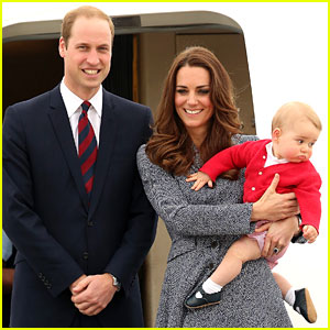 Kate Middleton, Prince William, & Prince George S