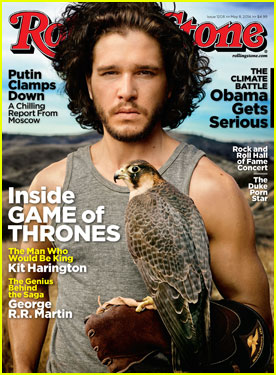 Kit Harington's Muscles Deserve to Be on 'Rolling Stone' Cover!