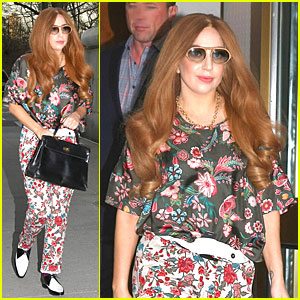 Lady Gaga Is Pretty as a Flower on April Fool's Day!