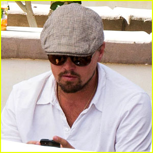 Leonardo DiCaprio Wrestles a Friend at Coache