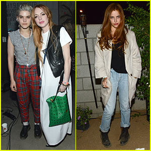 Lindsay Lohan & Riley Keough Make Virgin Sacrifices at Coachella!