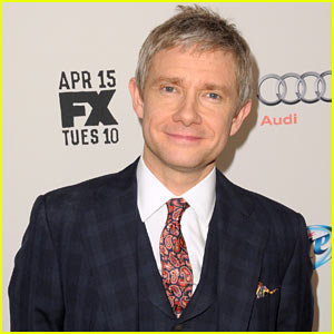 Martin Freeman Discusses THAT Crazy Scene in 'Fargo' Premiere!