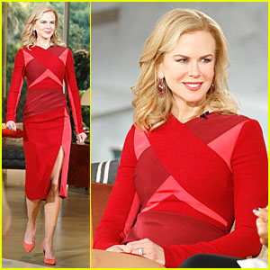 Nicole Kidman Talks Nashville Lifestyle on 'Queen Latifah Show'!