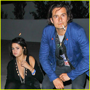 Orlando Bloom & Selena Gomez Spotted Hanging Out - See the Pic!