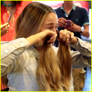 Shailene Woodley Cries While Getting Her Hair Cut - Watch Now!