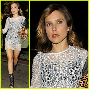 Sophia Bush Praises Los Angeles Clippers for Taking Stand Against Donald Sterling
