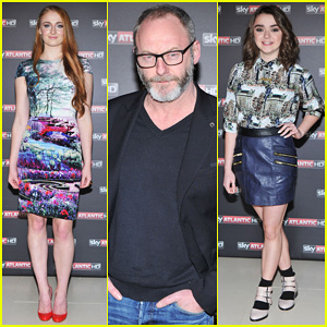 Sophie Turner & Maisie Williams Hit Milan for 'Game of Thrones' Season 4 Premiere!
