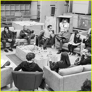 'Star Wars: Episode VII' Cast Reads Script at a Table Read - See the Pic!
