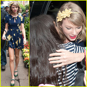 Taylor Swift Celebrates Earth Day by Perusing Flower Shops!