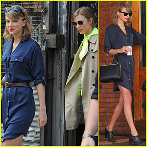 Taylor Swift Loves Surrounding Herself with Supermodel BFFs Karlie Kloss & Lily Aldridge!