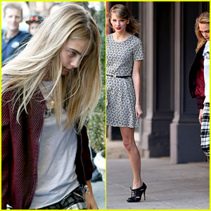 Taylor Swift Has Lots of Model Friends, Grabs Lunch with Cara Delevingne!