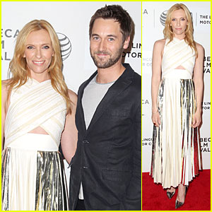 Toni Collette Finds Ryan Eggold Easily at 'Lucky Them' Tribeca Premiere!