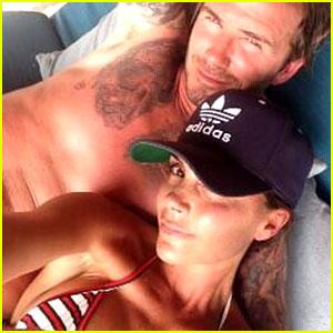 Victoria Beckham Celebrates 40th Birthday with Shirtless Hubby David Beckham!