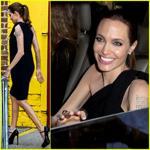 Angelina Jolie Supports Brad Pitt at the Make It Right Gala!