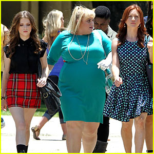Anna Kendrick & Rebel Wilson Start 'Pitch Perfect 2' Filming in Baton Rouge!