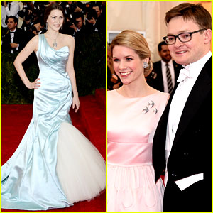 Anna Wintour's Kids Charlie & Bee Shaffer Attend Met Ball 2014!