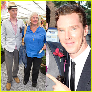 Benedict Cumberbatch Is Such a Sweet Son to Mom Wanda at Chelsea Flower Show Preview!