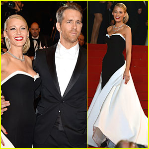 Blake Lively & Ryan Reynolds Coordinate Outfits at 'The Captive' Cannes Premiere!