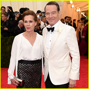 Bryan Cranston Brings Wife Robin Dearden to Met Ball 2014