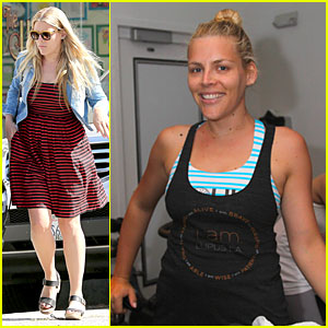 Busy Philipps Raises Lupus Awareness Through Spin Class!