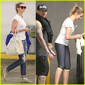 Cameron Diaz & Benji Madden: New Couple Alert?