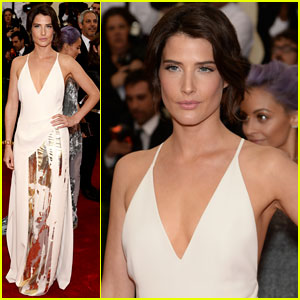 Cobie Smulders Shines on Met Ball 2014 Red Carpet