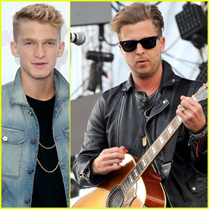 Cody Simpson Yells at People Leaving During Ed Sheeran's Wango Tango 2014 Set!