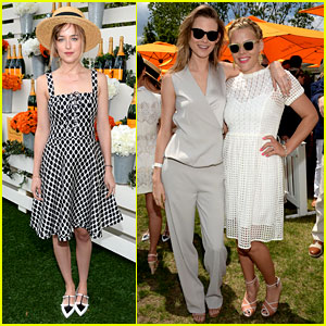 Dakota Johnson & Behati Prinsloo Check Out a Polo Match!