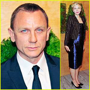 Daniel Craig & Maggie Gyllenhaal Party in the Garden at MoMA!