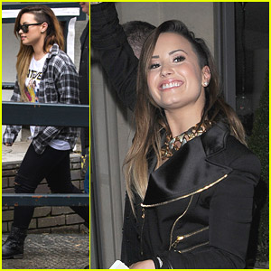 Demi Lovato Tapes 'Paul O'Grady' Appearance in London
