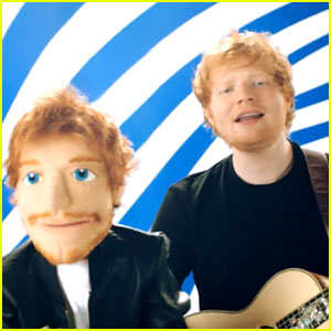Ed Sheeran & Pharrell Williams Rock Out with Muppet in 'Sing' Music Video - Watch Now!