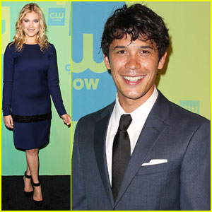 Eliza Taylor & Bob Morley Dish on 'The 100' Finale at CW Upfronts!
