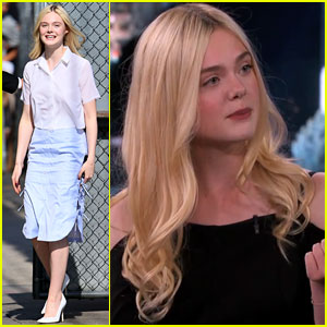 Elle Fanning Tells Cute Promposal Story on 'Jimmy Kimmel Live'