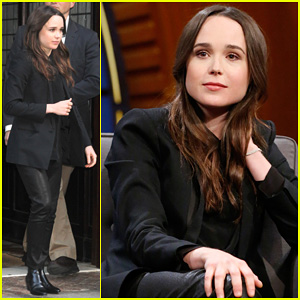 Ellen Page Helps Rename Pets on 'Late Night with Seth Meyers'!