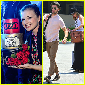 Emily VanCamp's 28th Birthday Celebration Was Definitely a Bed of Roses!