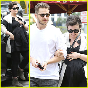 Ginnifer Goodwin & Josh Dallas Grab Lunch Ahead of 'Once' Season Finale!