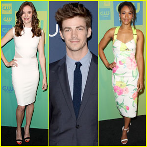 Grant Gustin & Danielle Panabaker Introduce 'The Flash' at The CW Upfronts 2014!